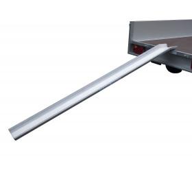 Aluminium beugel voor kop oprijplaten