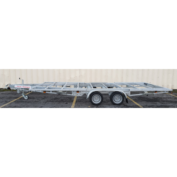 5m40 2 axles 1800kg - Trailer for Tiny House