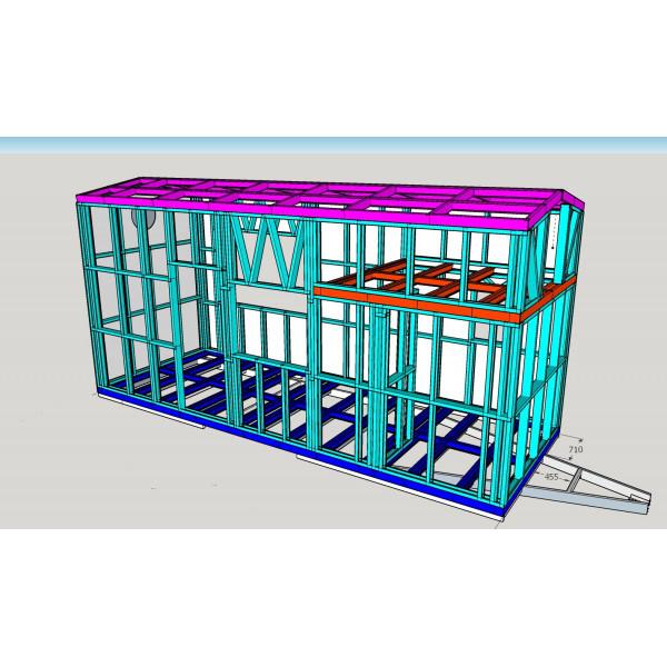 Remorque + Structure + Livraison TH540