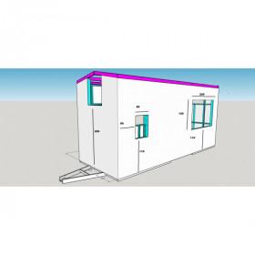 kit 4 béquilles renforcée pour tinyhouse