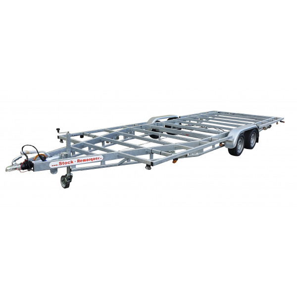 6m60 2 axles 1800kg - Trailer for Tiny House