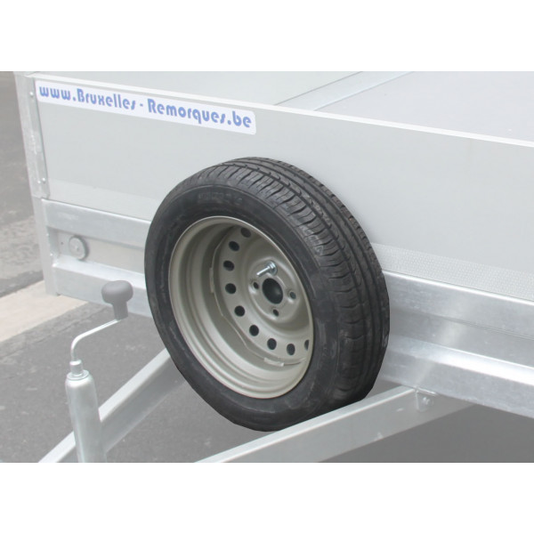 Spare wheel option for twin 155 / 80R13 4 holes 100mm