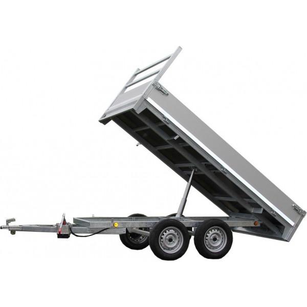 Remorque Benne basculante 750kg 3m07x1m57