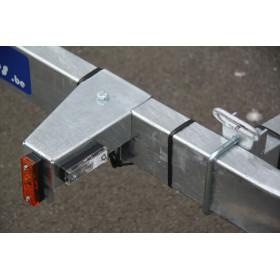 Remorque Plateau 2m57x1m57 - freiné