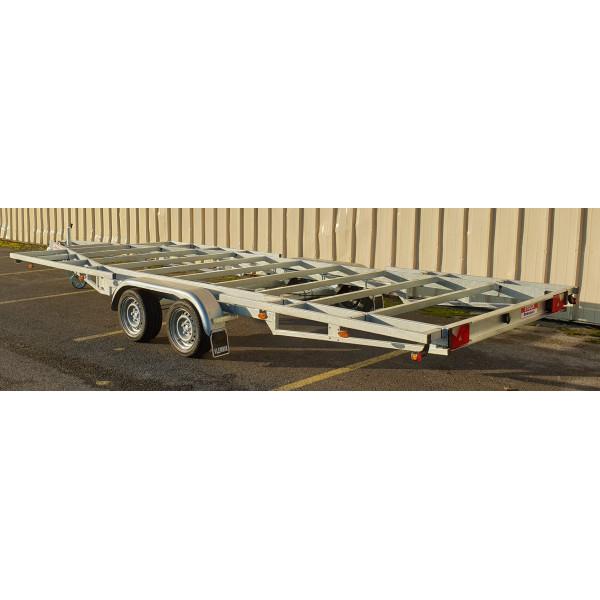 6m00 2 essieux 1800kg - Remorque pour Tiny House